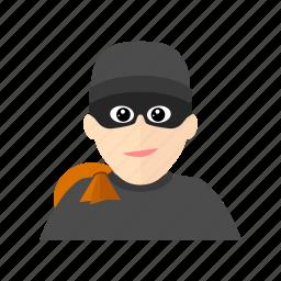 breaker, burglar, house, steal, thief icon
