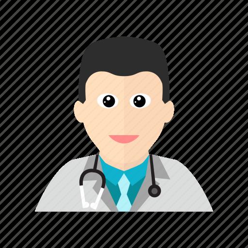 doctor, hospital, stethoscope, treatment icon