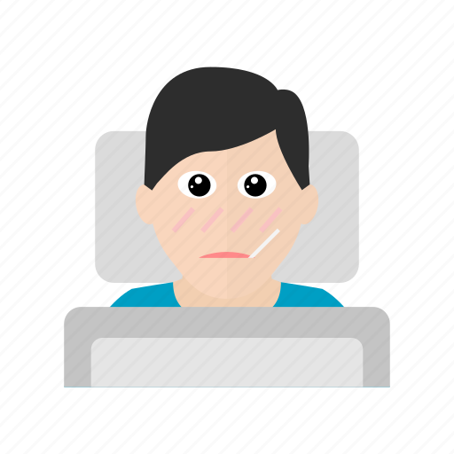 Bed, hospital, ill, patient, sick icon - Download on Iconfinder
