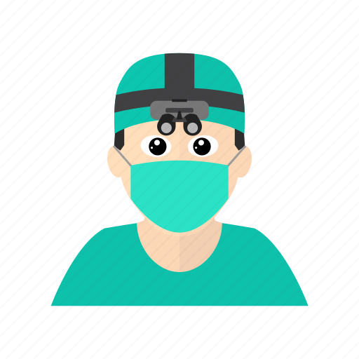 doctor, emergency, hospital, microscope, operation, sergeon, surgery icon