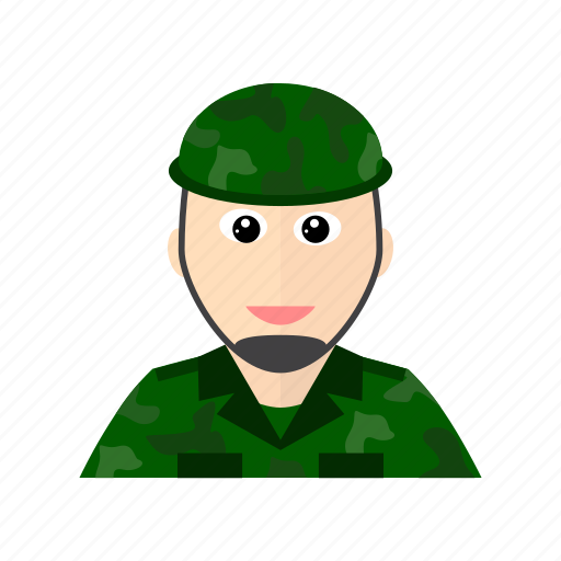 army, force, land, protect, serve, soldier, war icon
