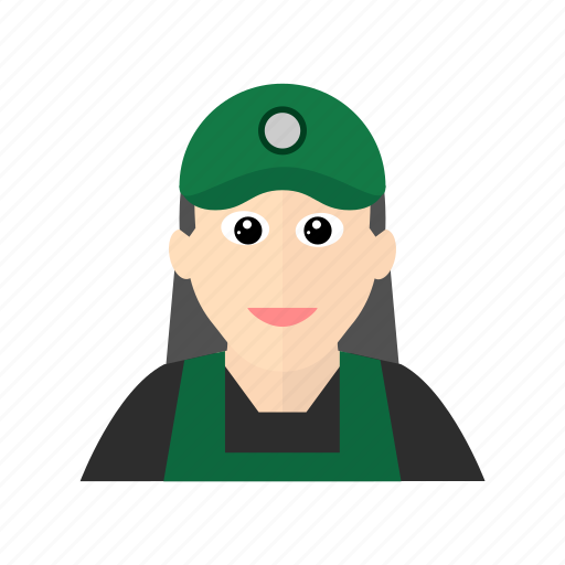 apron, beverage, cashier, coffee, female, restaurant, starbuck icon