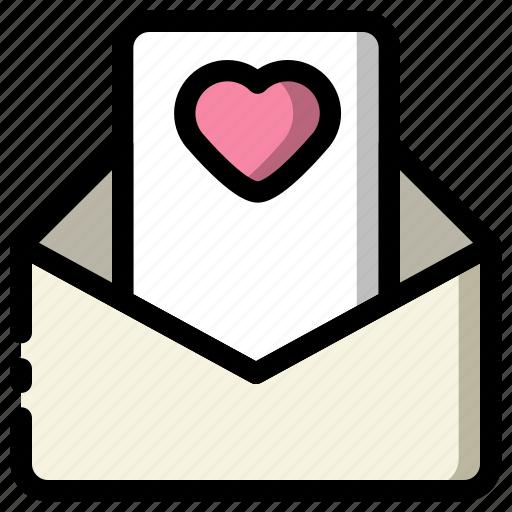 letter, love, mailbox, valentine icon