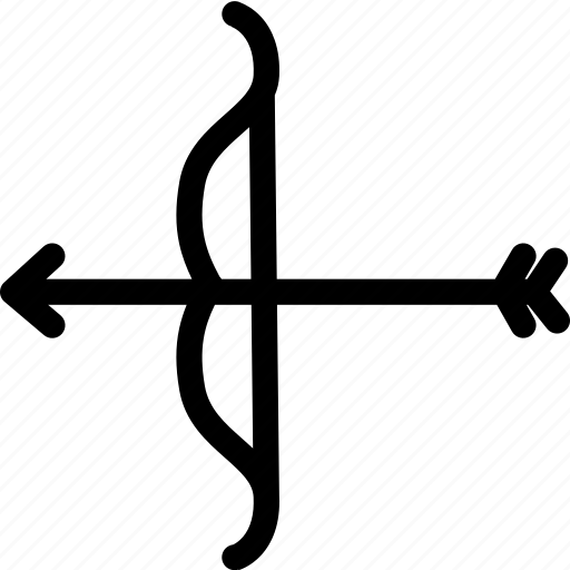 archery, arrow, bow, love, medieval, weapon icon