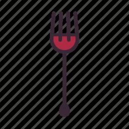 cutlery, dinner, eat, flatware, fork, restaurant, silverware icon