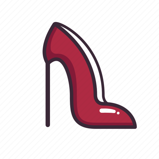 evening wear, formal, heel, high heel, prom, pump, wedding icon