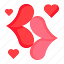 heart, kiss, love, mouse, romance, romantic, valentine icon