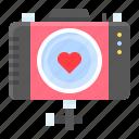 camera, heart, love, romance, romantic, take photo, valentine icon