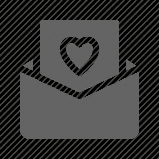 invitation letter love wedding icon