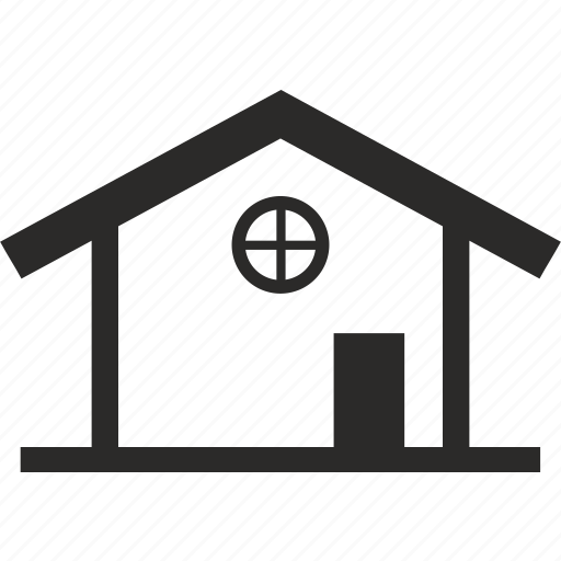 bulding, house, roof, window icon