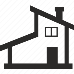 architecture, building, modern, roof icon
