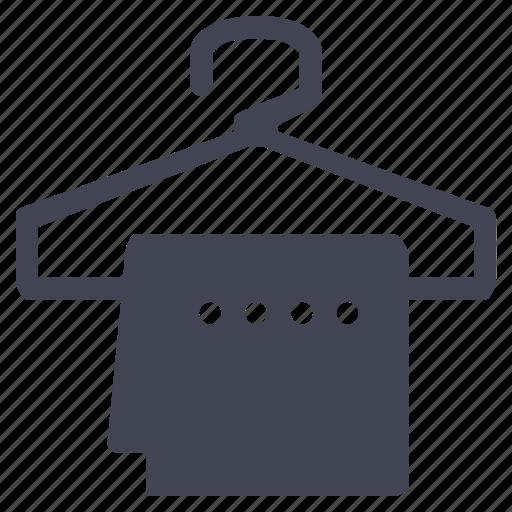 clothes, facilities, hanger, room, towel icon