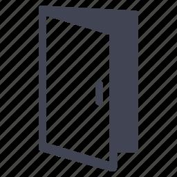 door, entrance, exit, facilities, room icon