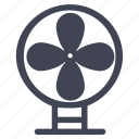 appliance, facilities, fan, furniture, room icon