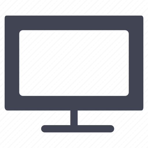device, facilities, room, screen, television, tv icon
