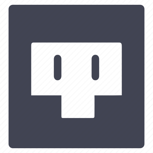 electric, electricity, facilities, international, room, socket icon