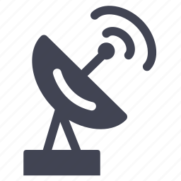 communication, facilities, room, satellite, television icon