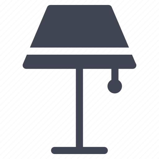 facilities, furniture, lamp, light, room, standing icon