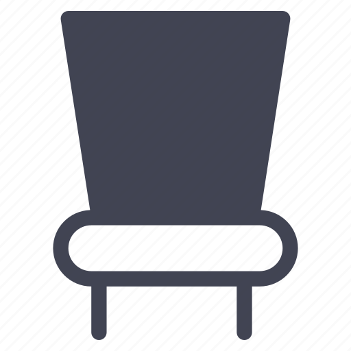 chair, facilities, furniture, room, table icon