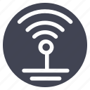 connection, facilities, internet, room, wifi, wireless icon
