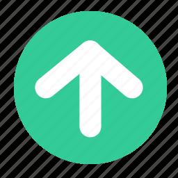 arrow, arrow top, arrows, upload icon