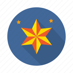 achievement, badge, goal, mission, prize, star, vision icon