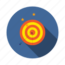 achievement, arrow, dart, dartboard, goal, mission, vision icon