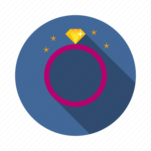 diamond, engage, love, ring icon