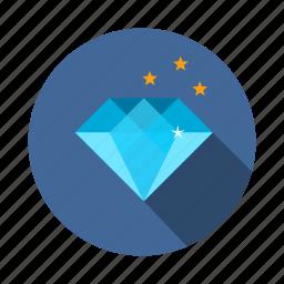 diamond, jewel, ruby, vision icon