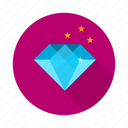 diamond, prize, ruby, vision icon