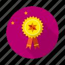 achivements, badge, goal, gold, medal, mission, reward icon