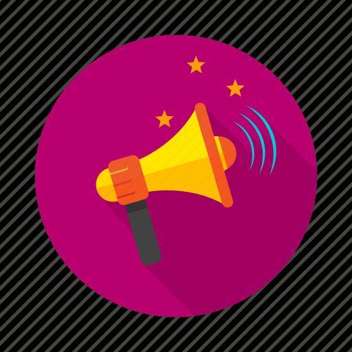 louder, ringing, roaring, voice icon