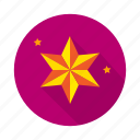 achivements, badges, goal, laurel, mission, reward, star icon