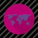 earth, global, map, world