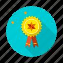 achievement, badge, prize, winner icon