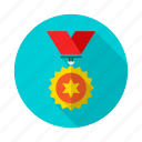 badge, champion, goldmedal, medal, medalist, reward, top icon