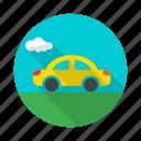 automobile, cab, car, motor, taxi, van, vehicle