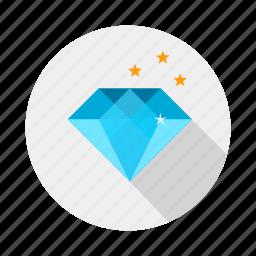 diamond, engagement, jewel, rock, wedding icon
