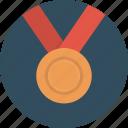 award, bronze, challenge, medal, prize, rank