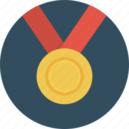 award, challenge, gold, medal, prize, rank icon