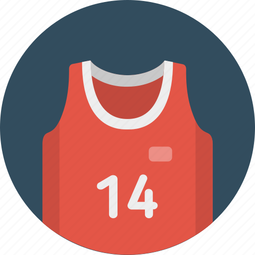 basketball, clothing, game, shirt, sport, t-shirt icon