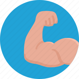 arm, bodybuilding, fitness, force, muscles, sport, strength icon