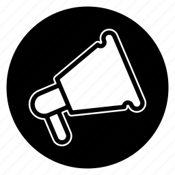 ad, advertisement, advertising, advetise, megaphone, promotion icon