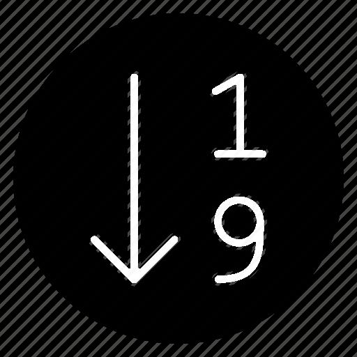 arrange, order icon