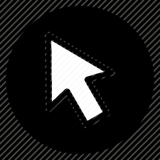 Arrow, click, cursor, mose, direction icon - Download on Iconfinder