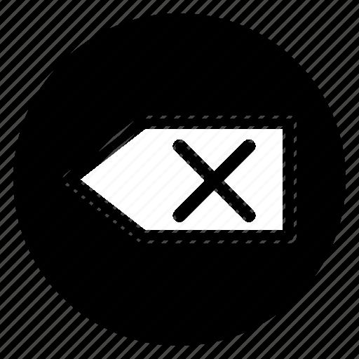 Backspace, back, delete, erase, remove icon - Download on Iconfinder