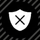 block, building, cancel, lock, stop icon