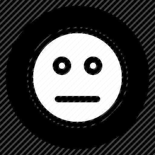 boring, emoji, emoticon, face, smiley icon