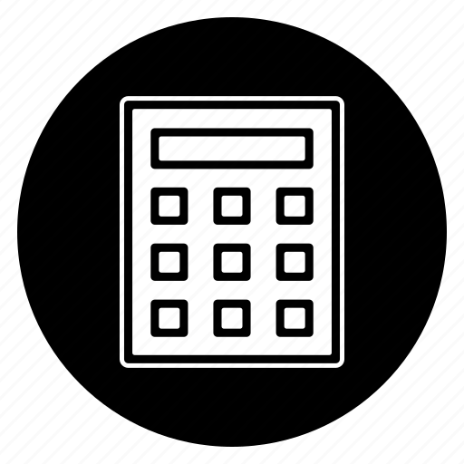 accounting, calculate, math icon