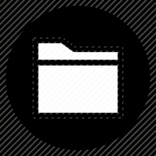 Folder, round, cloud, data, files, storage icon - Download on Iconfinder